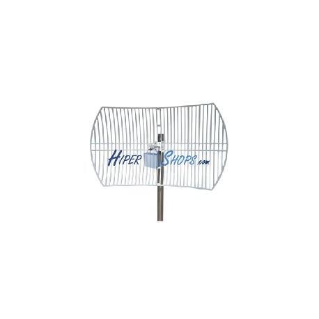 Antena parabólica de 5.5 GHz y 30 dBi