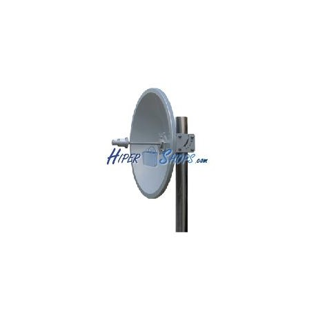 Antena parabólica de disco de 5.x GHz y 29 dBi