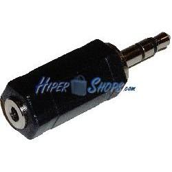 Adaptador Audio Estéreo (Jack-3.5mm-M / Jack-2.5mm-H)