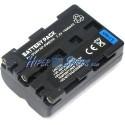 Batería compatible con con Sony NP-FM500H