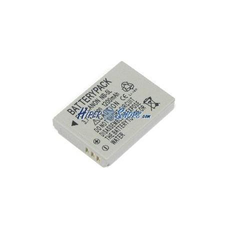Batería de reemplazo compatible con Canon modelo NB-5L