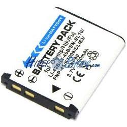 Batería compatible con FujiFilm NP45 FinePix XP50 XP60 Z10fd Z20fd Z30 Z31 Z33WP