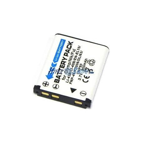 Batería compatible con Olympus LI-40B LI-42B