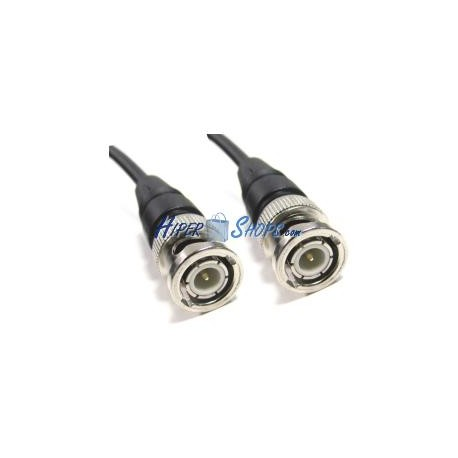 Cable coaxial RG58 BNC macho a BNC macho de 50cm