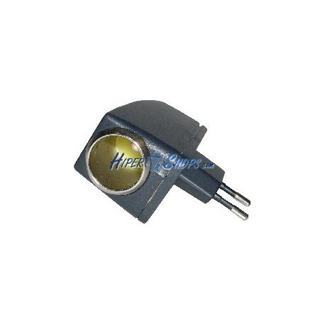 Adaptador Mechero Coche 220VAC a 12VDC