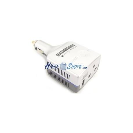 Inversor eléctrico onda modificada 12V a 220V de 75W USB