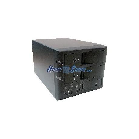 Caja Externa 3.5 2xSATA-HDD a eSATA+USB2 (RAID EXTRAIBLE)