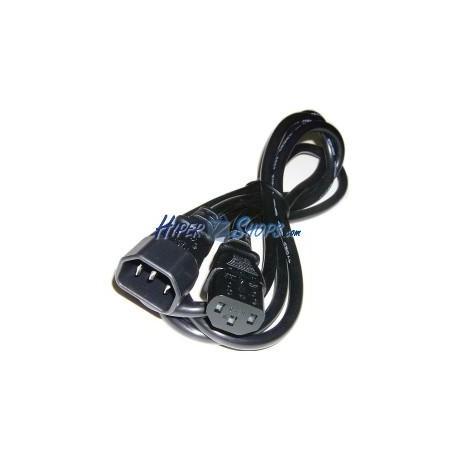 Cable Alimentación IEC-60320 3 m (C13 / C14)
