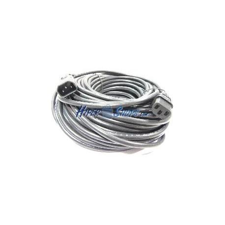 Cable Alimentación IEC-60320 20 m (C13 / C14)
