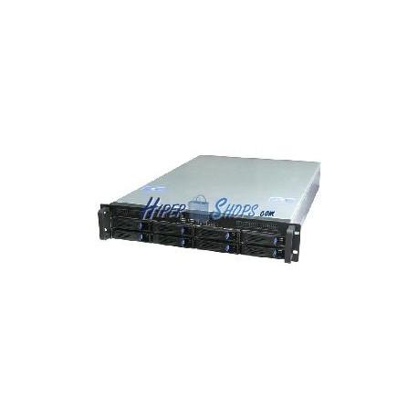 Caja rack19 IPC ATX 2U F660mm 8x3.5 Mini-SAS 1x3.5 RackMatic
