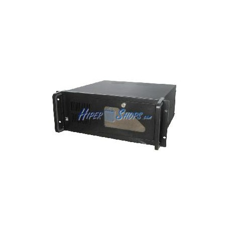 Caja rack19 IPC ATX 4U F400mm 2x5.25 7x3.5 RackMatic