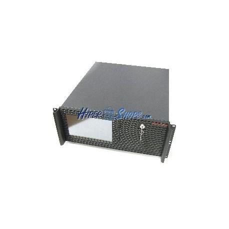 Caja rack19 IPC ATX 4U F500mm 1x5.25 4x3.5 con LCD RackMatic