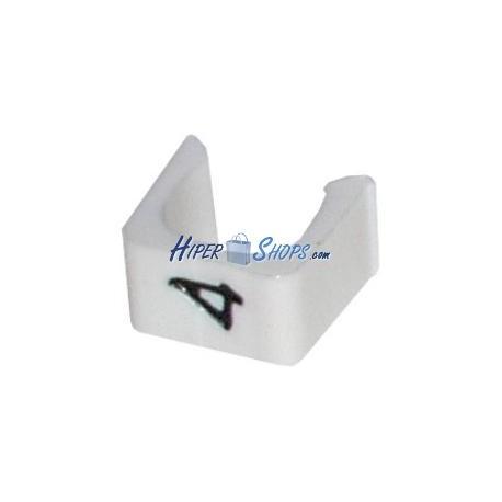 Marcadores Cables (4) 100uds (3.0mm)