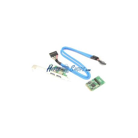 Adaptador Mini PCIe a 2 puerto USB 3.0