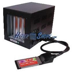 Caja de expansión 2 PCI 2 PCI-Express (ExpressCard)