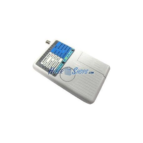 4-in-1 Cable Tester (RJ45 + RJ11 + USB + BNC)