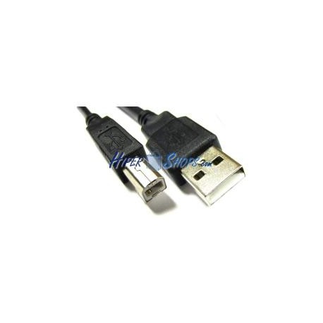 Cable USB 2.0 (AM/BM) 1.8m