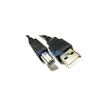 Cable USB 2.0 (AM/BM) 10m