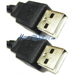 Cable USB 2.0 (AM/AM) 1m
