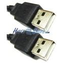 Cable USB 2.0 (AM/AM) 1.8m