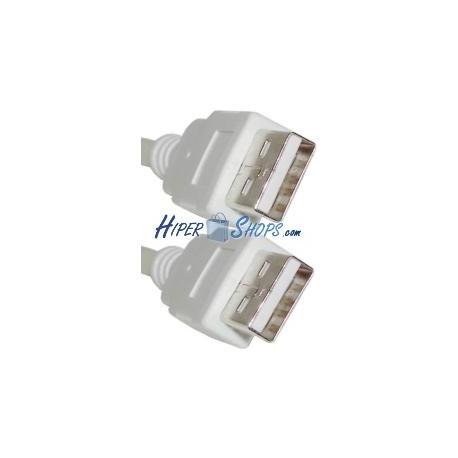 Cable USB 2.0 AM a AM de 5m