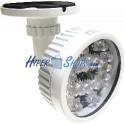 Foco de infrarrojos para visión nocturna de 12 LED de exterior a 150m 12W