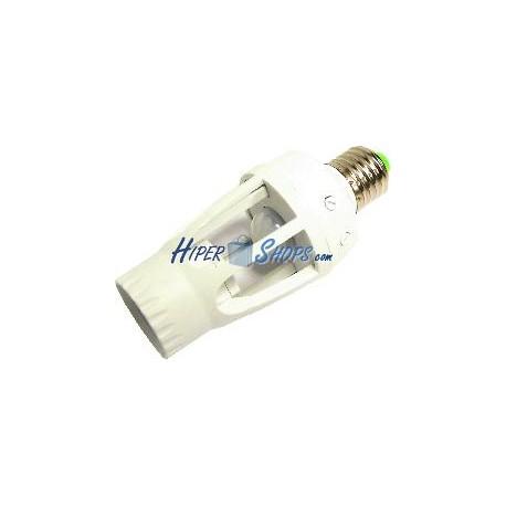 Rosca bombilla con detector de movimiento por infrarrojos ES27