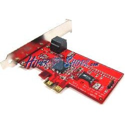 Adaptador PCI-Express a SATA2 RAID con dos conectores internos