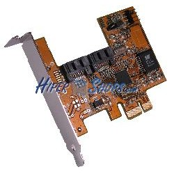 Adaptador PCI-Express a SATA2 RAID FLEX-ATX (2 INT)