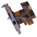 Adaptador PCI-Express a SATA2 RAID FLEX-ATX (1 INT + 1 EXT)