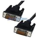 Cable DVI-D macho a DVI-D macho de 5 m dual link