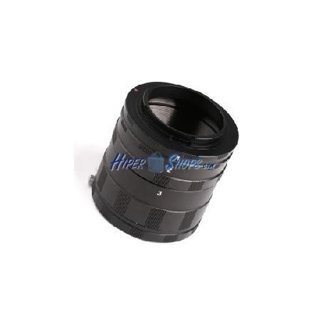 Tubo de extensión macro para objetivo Nikon