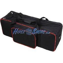 Bolsa de transporte para material fotográfico 110 x 36 x 32 cm tipo carrito