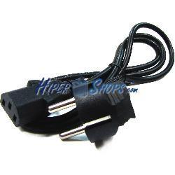 Cable Alimentación IEC-60320 1.2m (C13 / SCHUKO-M)