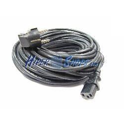 Cable Alimentación IEC-60320 15 m (C13 / SCHUKO-M)
