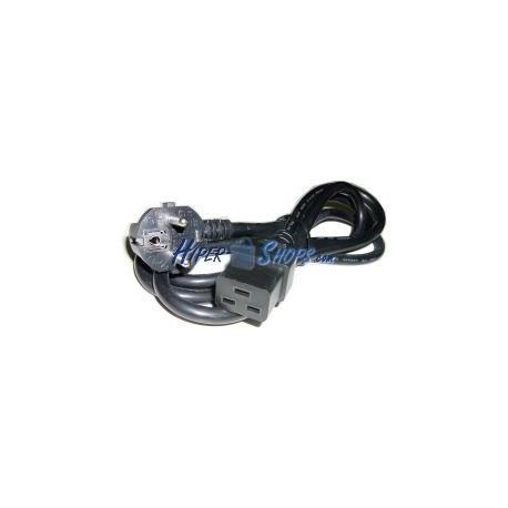 Cable Alimentación IEC-60320 3.0m (C19 / SCHUKO-M)