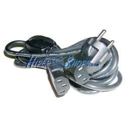 Cable Alimentación IEC-60320 1.8m (SCHUKO-M / 2xC13)